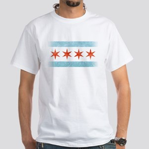Chicago Flag T Shirts Cafepress