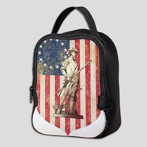 Concord Minuteman, Shield Neoprene Lunch Bag