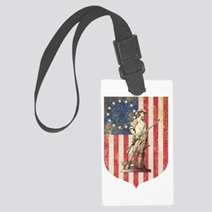 Concord Minuteman, Shield Luggage Tag