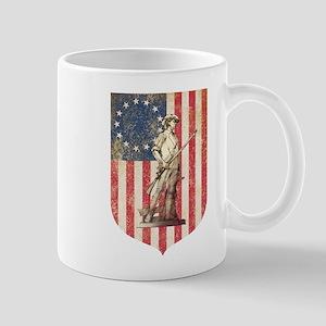 Concord Minuteman, Shield Mugs