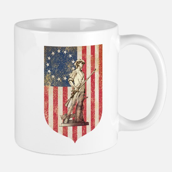 Concord Minuteman, Shield Mugs