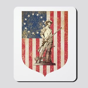 Concord Minuteman, Shield Mousepad