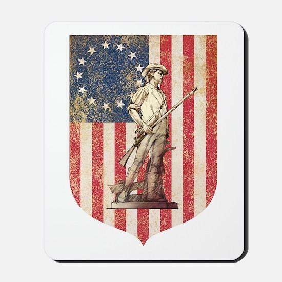 Concord Minuteman, Shield Mousepad