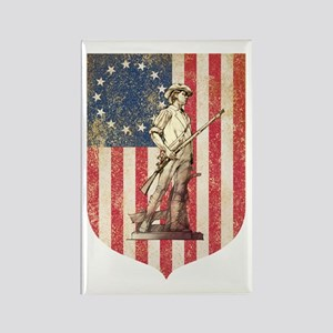 Concord Minuteman, Shield Magnets
