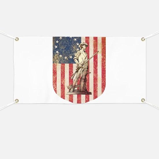 Concord Minuteman, Shield Banner
