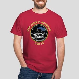 USS John Kennedy CVN-79 Dark T-Shirt