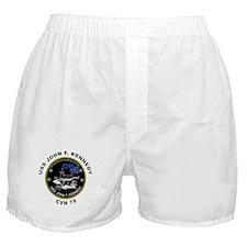USS John Kennedy CVN-79 Boxer Shorts