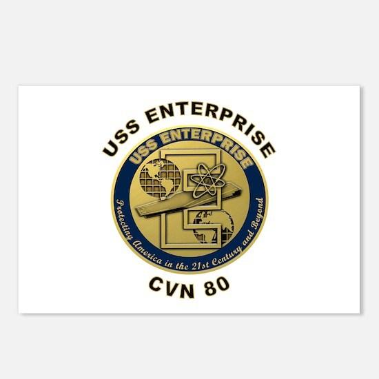 USS Enterprise CVN-80 Postcards (Package of 8)