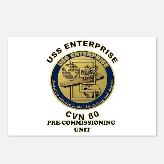 PCU Enterprise Postcards (Package of 8)