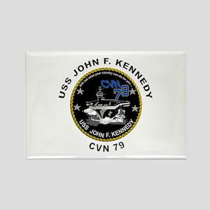 USS John Kennedy CVN-79 Rectangle Magnet
