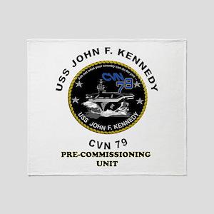 PCU Kennedy Throw Blanket