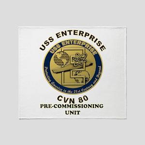 PCU Enterprise Throw Blanket