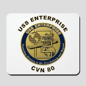 USS Enterprise CVN-80 Mousepad