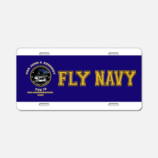 PCU Kennedy Aluminum License Plate
