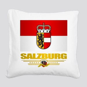 Salzburg Square Canvas Pillow