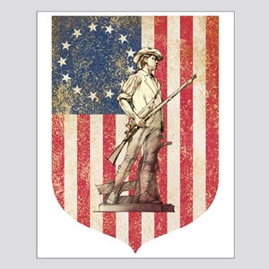Concord Minuteman, Shield Posters