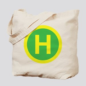 Helipad Sign Tote Bag