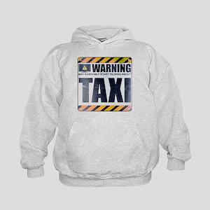 Warning: Taxi Kid's Hoodie