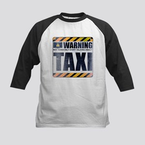 Warning: Taxi Kids Baseball Jersey