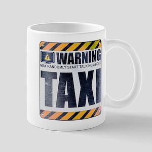 Warning: Taxi Mug