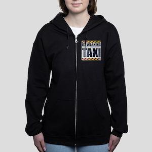Warning: Taxi Women's Zip Hoodie