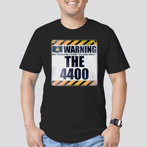 Warning: The 4400 Men's Dark Fitted T-Shirt