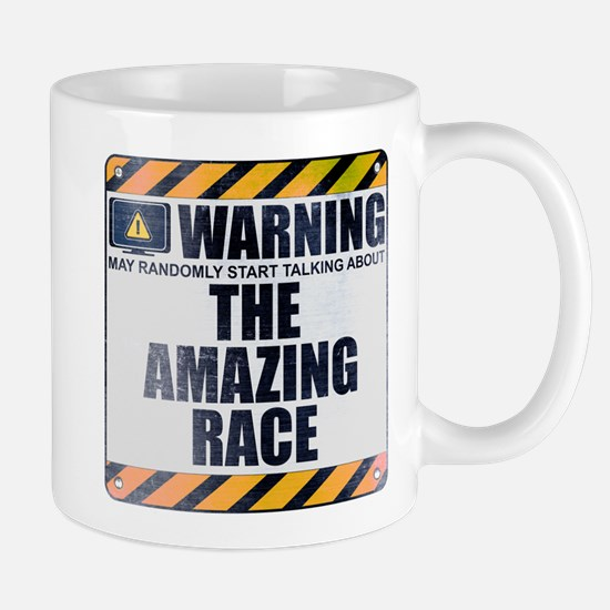 Warning: The Amazing Race Mug
