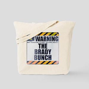 Warning: The Brady Bunch Tote Bag