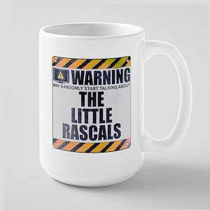 Warning: The Little Rascals Large Mug