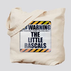 Warning: The Little Rascals Tote Bag