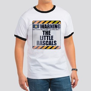 Warning: The Little Rascals Ringer T-Shirt
