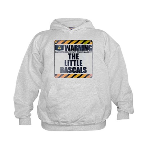 Warning: The Little Rascals Kid's Hoodie