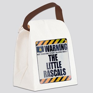 Warning: The Little Rascals Canvas Lunch Bag