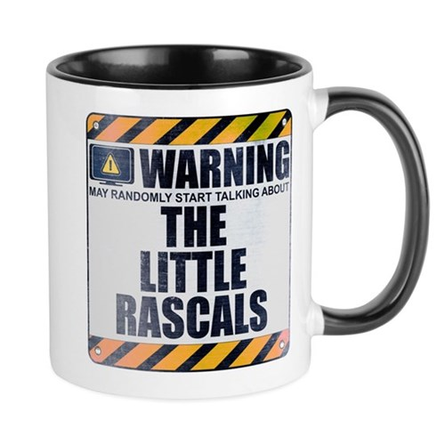 Warning: The Little Rascals Mug