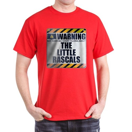 Warning: The Little Rascals Dark T-Shirt