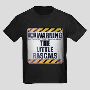 Warning: The Little Rascals Kids Dark T-Shirt