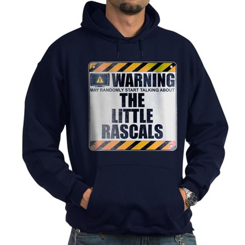 Warning: The Little Rascals Dark Hoodie