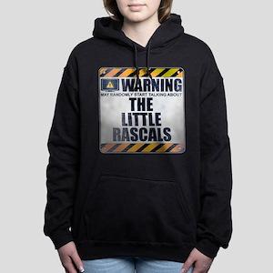 Warning: The Little Rascals Woman's Hooded Sweatsh