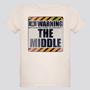 Warning: The Middle Organic Kid's T-Shirt