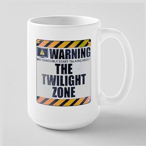 Warning: The Twilight Zone Large Mug