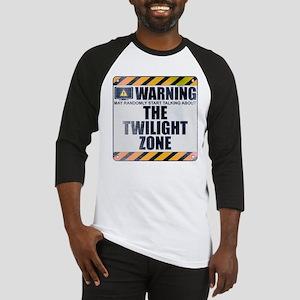 Warning: The Twilight Zone Baseball Jersey