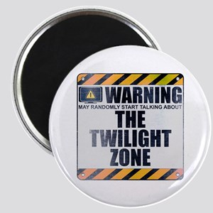 Warning: The Twilight Zone Magnet