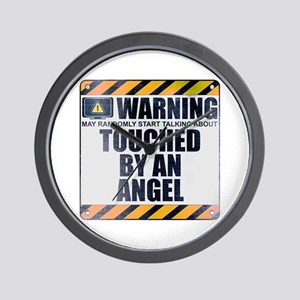 Warning: Touched by an Angel Wall Clock