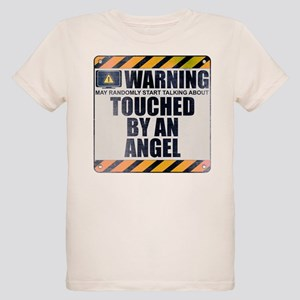 Warning: Touched by an Angel Organic Kid's T-Shirt