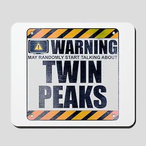 Warning: Twin Peaks Mousepad