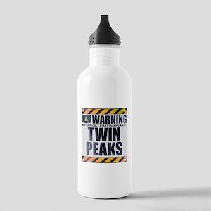 Warning: Twin Peaks Stainless Water Bottle 1.0L