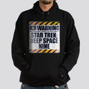 Warning: Star Trek: Deep Space Nine Dark Hoodie