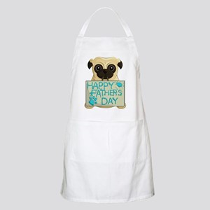 Father's Day Pug Apron