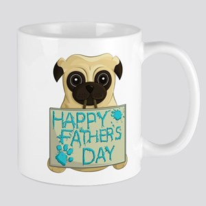 Father's Day Pug Mugs