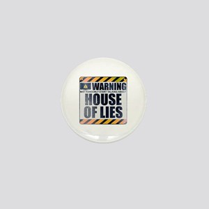 Warning: House of Lies Mini Button